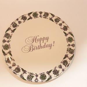Happy Birthday Plate Avon Collectors